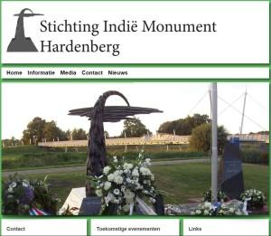 Indie Monument Hardenberg Nieuwe Website