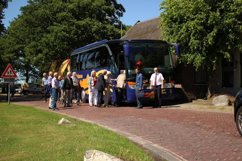 Met de bus naar Taman Indonesia